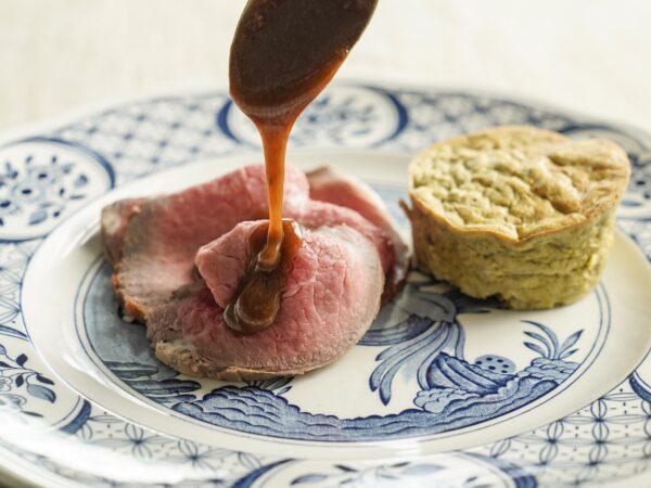 prenotare asporto o consegna roast beef di manzo